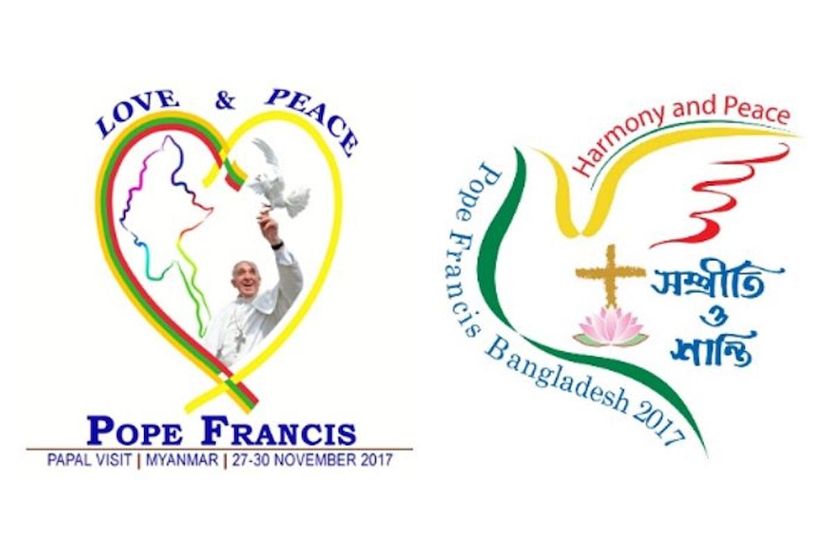 Dal 27 novembre al 2 dicembre il viaggio apostolico di Papa Francesco in Myanmar e Bangladesh