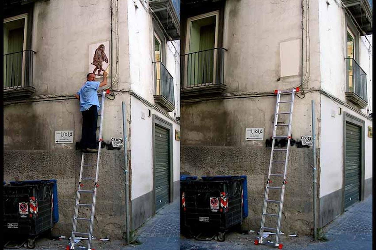 Il Cacciatore di Graffiti è il noto fotografo Augusto De Luca