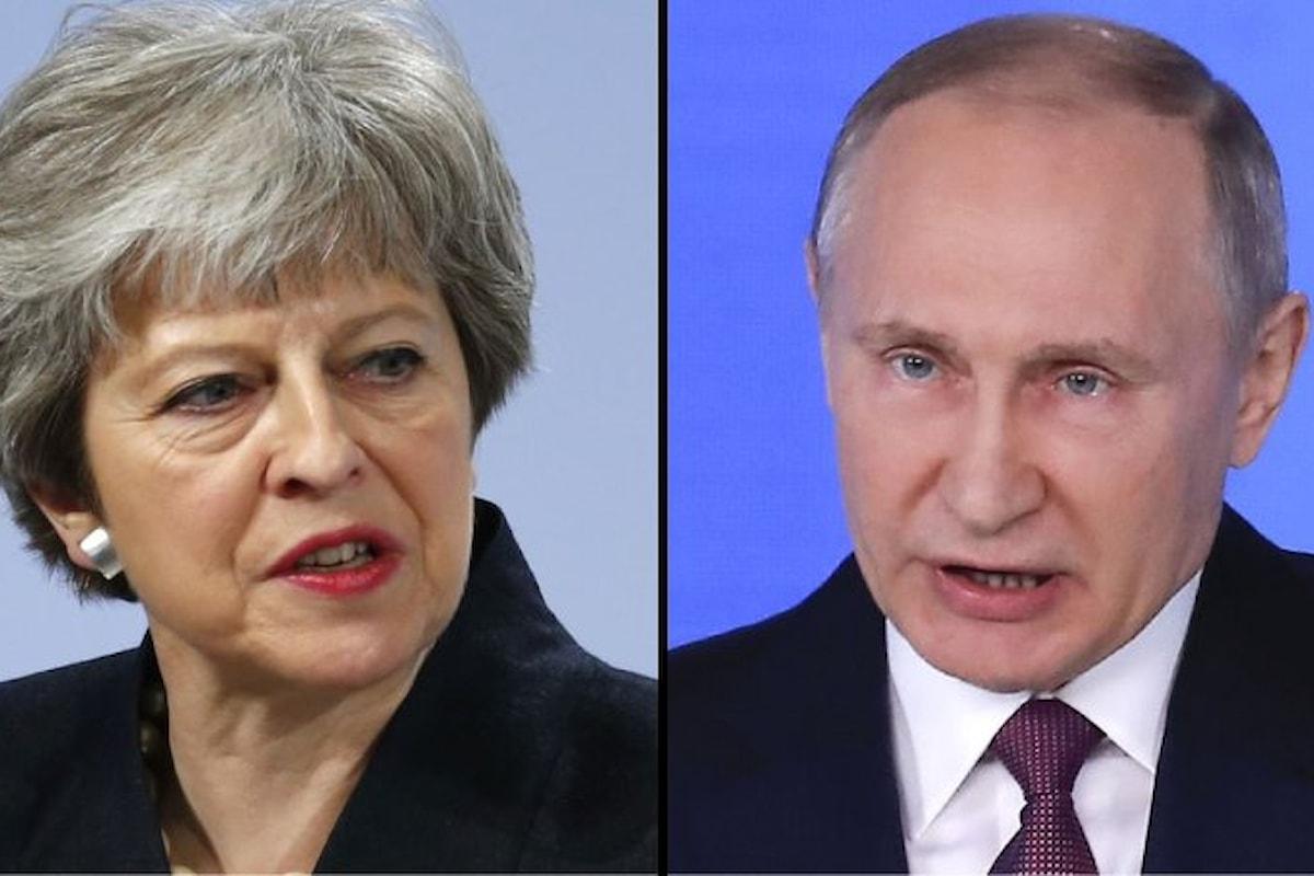 Theresa May espelle 23 diplomatici russi per il tentato omicidio di Skripal e di sua figlia