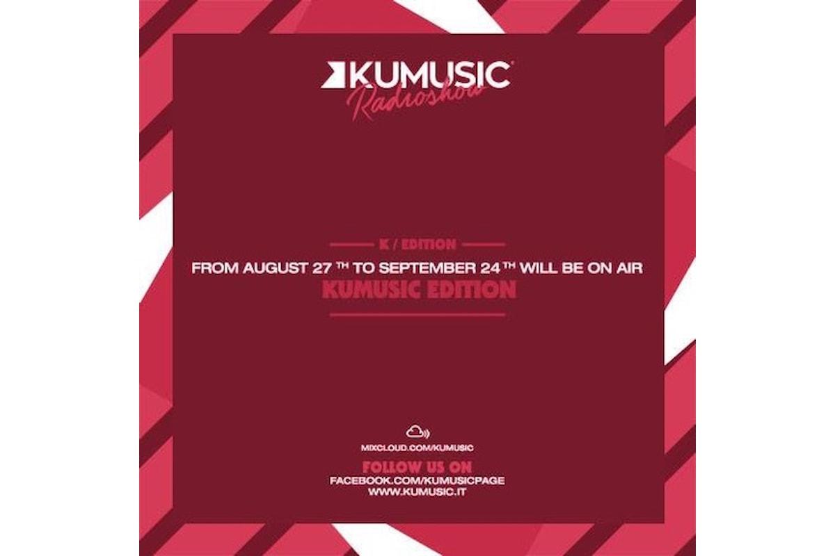 Kumusic Radioshow special edition: per sentire il groove dell'estate