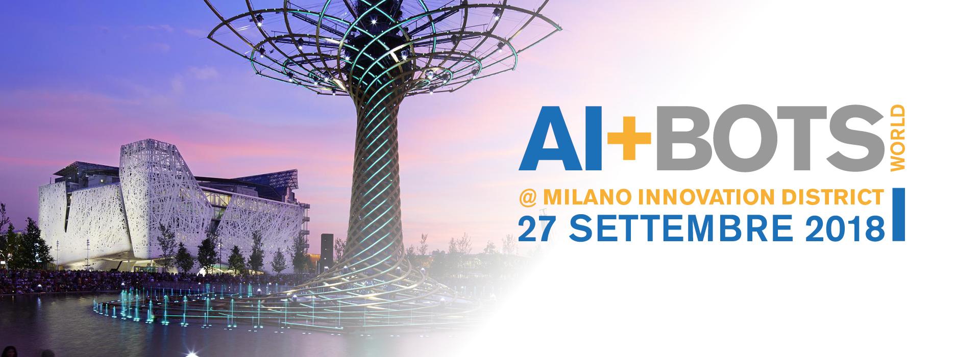 AI+BOTS World: l'intelligenza artificiale incontra le aziende utenti più innovative