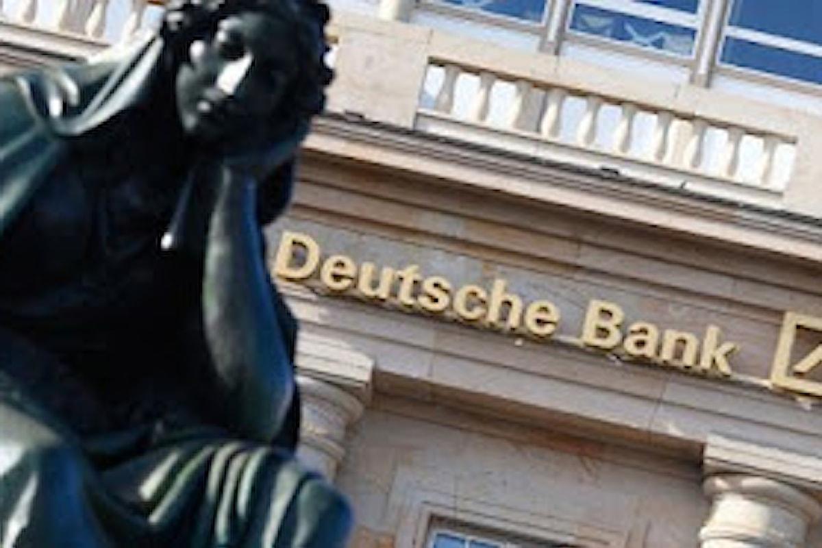 Deutsche Bank schiva un pericolo, ma il caos non è ancora finito