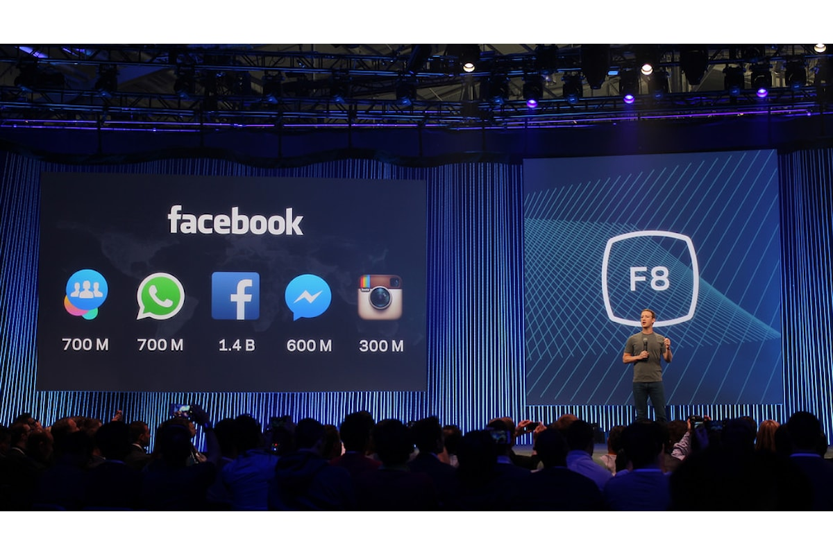Facebook Keynote 2016 , ecco le novità presentate