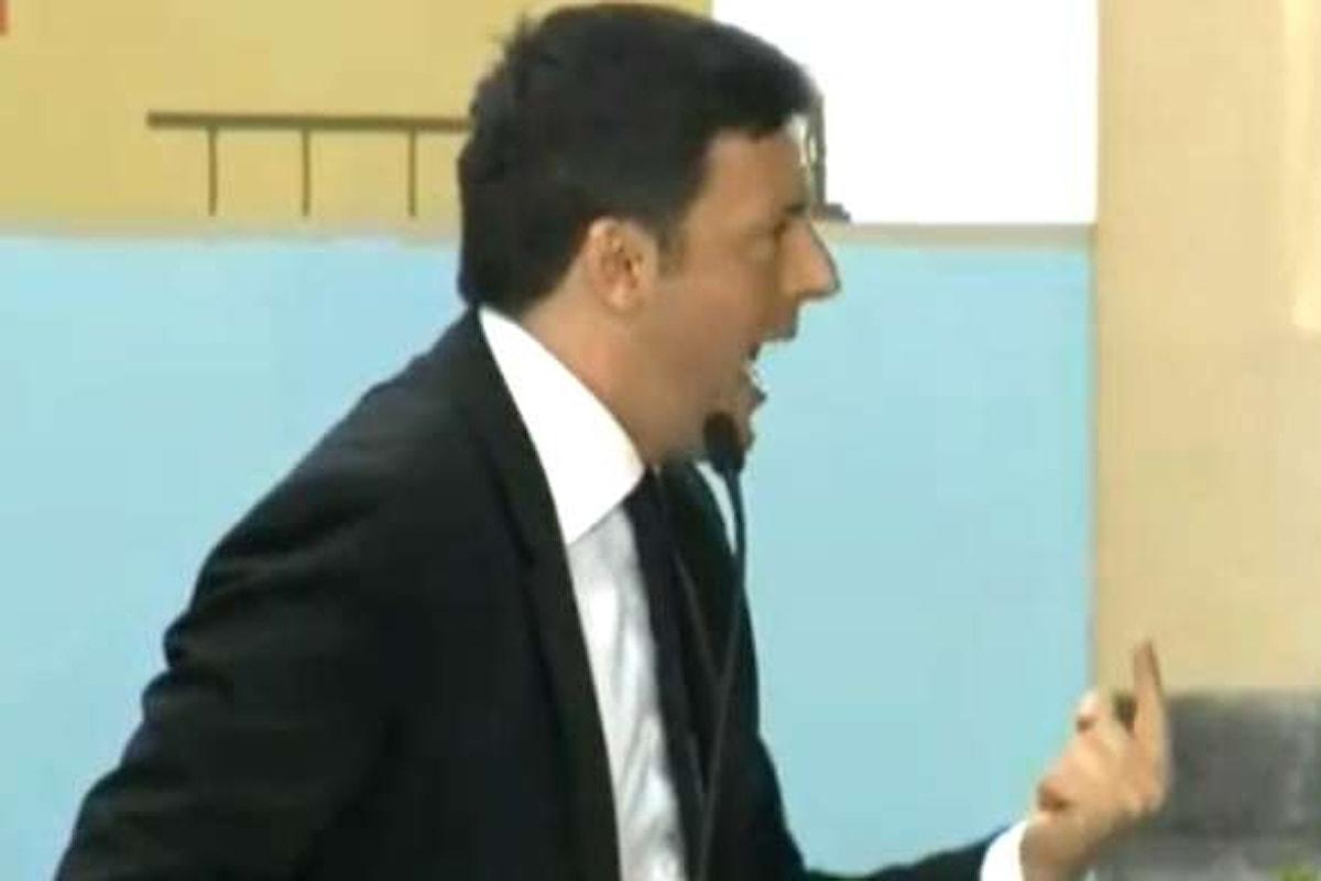 Matteo Renzi a Portici per gli Stati Generali del Turismo