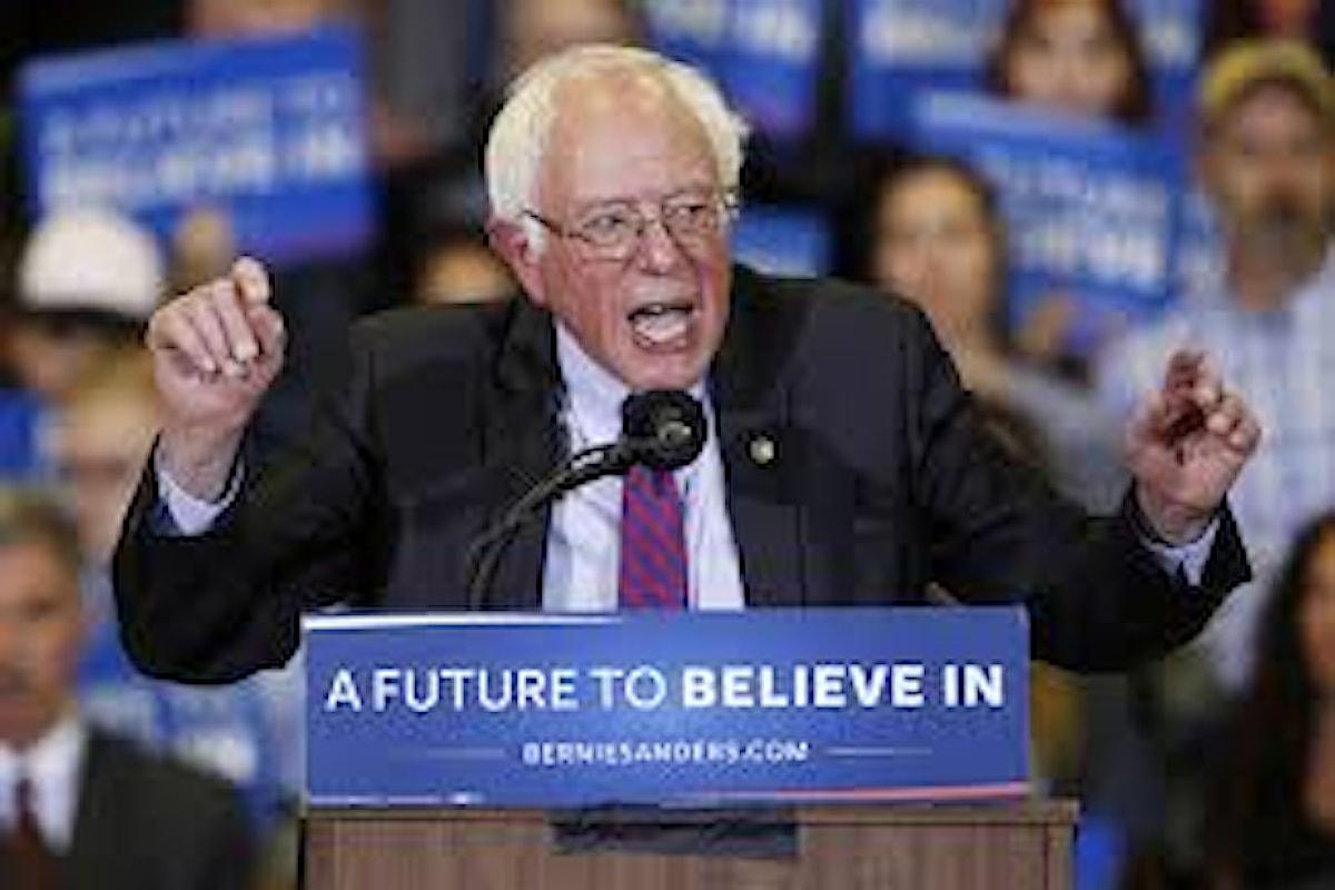 In Wyoming vince ancora Bernie Sanders