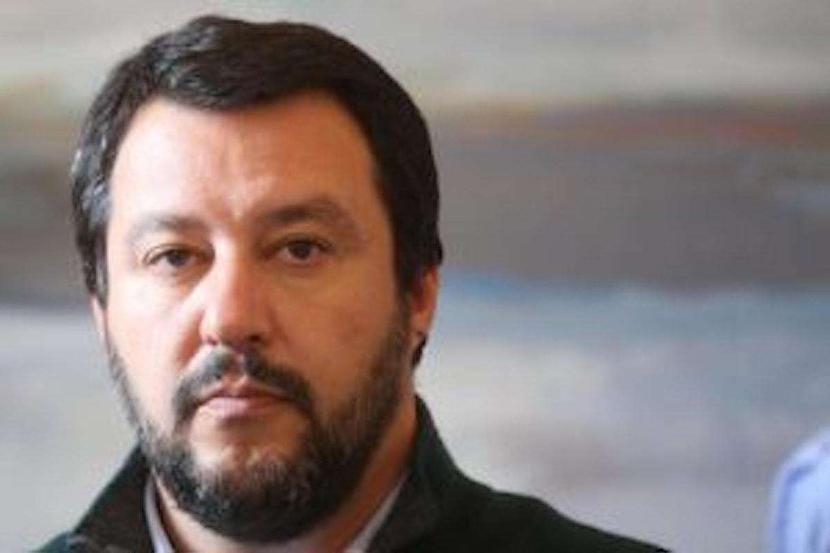Matteo Salvini contro Prodi e Draghi