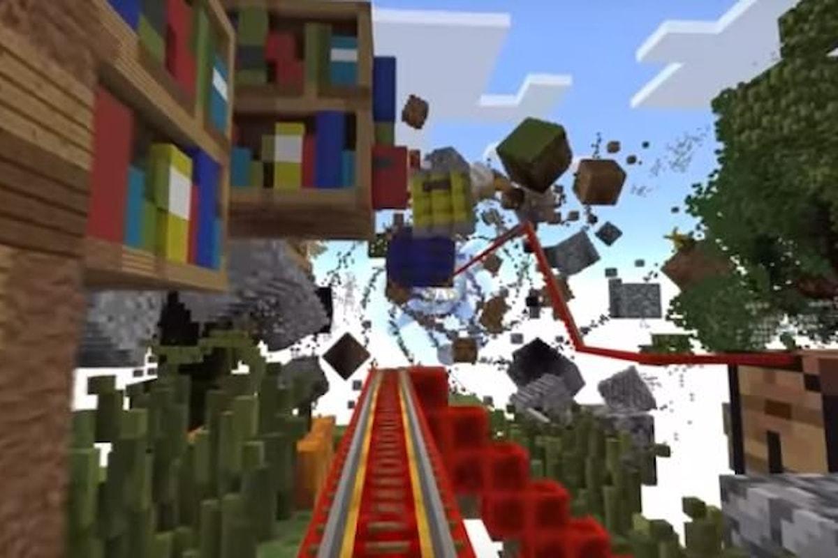 Minecraft ottiene la realtà virtuale oculus rift, nuovo modo di gioco