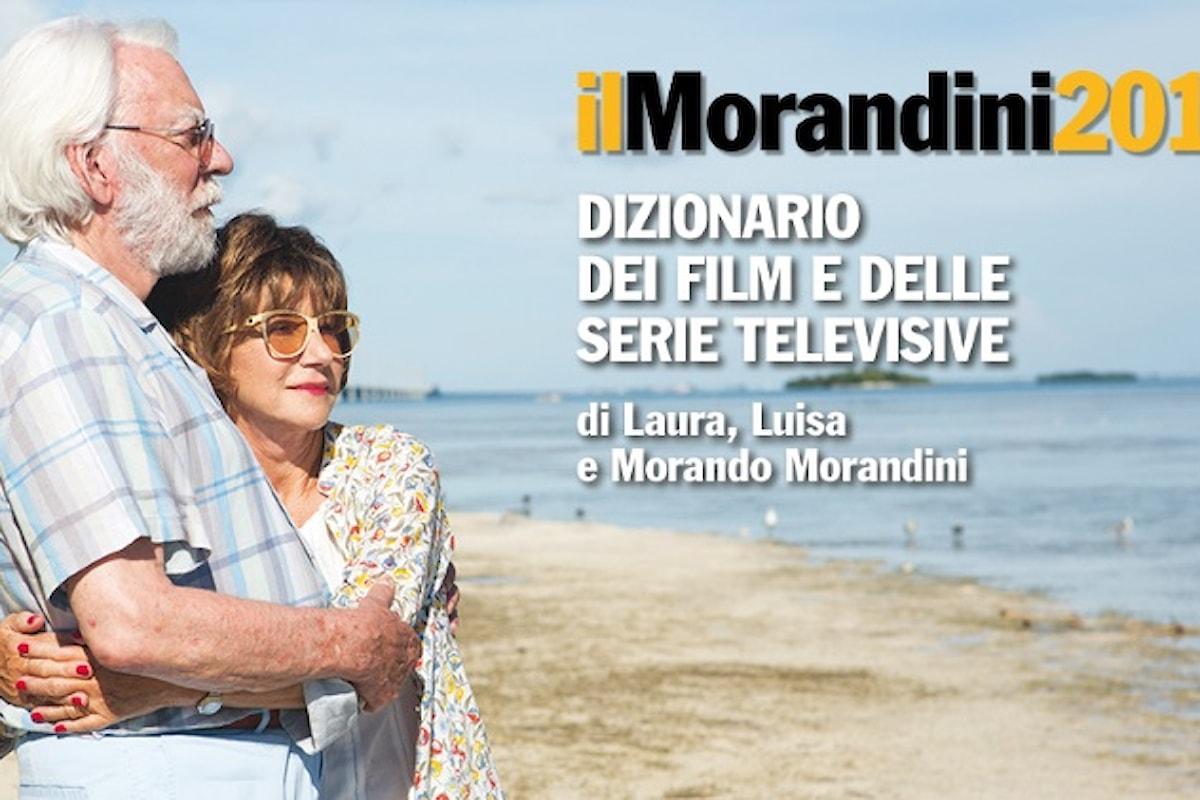 Pubblicato il Morandini 2018. In copertina Ella & John di Virzì