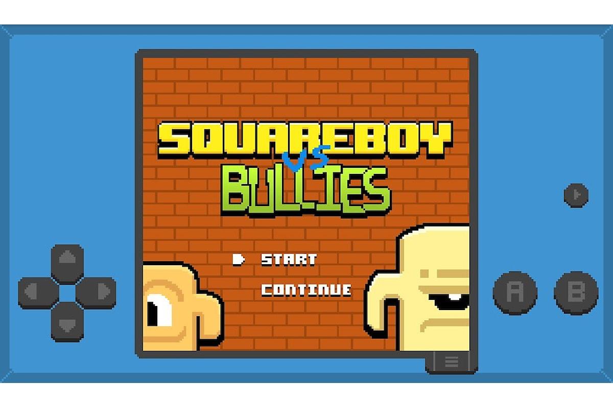 Squareboy vs Bullies un fantastico BeatEmUp disponibile gratuitamente per Windows 10 Mobile