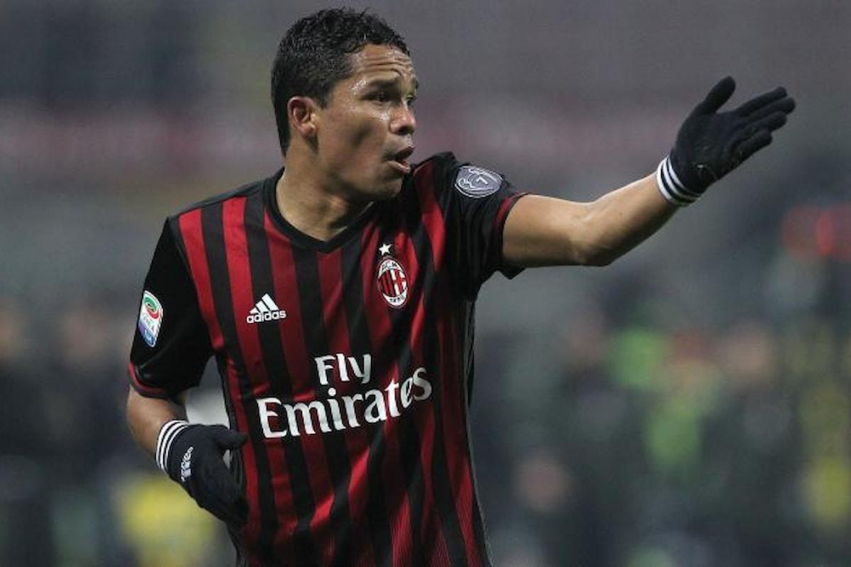 Bacca non esclude un ritorno al Milan!