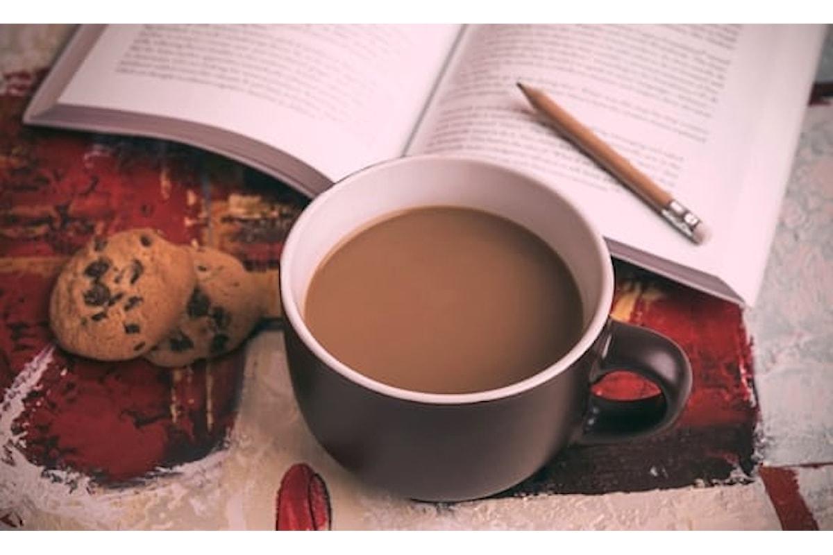 Il cioccolato e la lettura dei libri