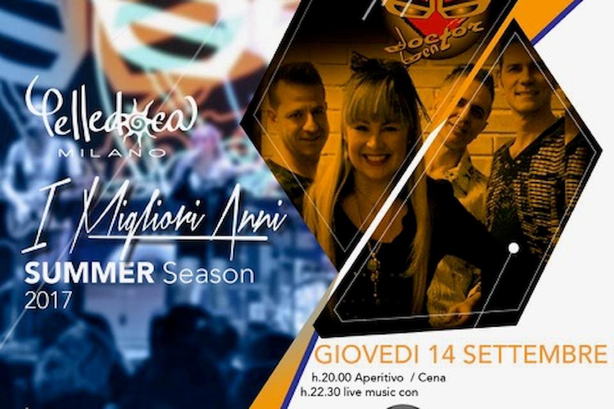 Pelledoca: Milano 13 settembre Bau Aperitivo, 14 settembre Doctor Beat e un weekend tutto da vivere…