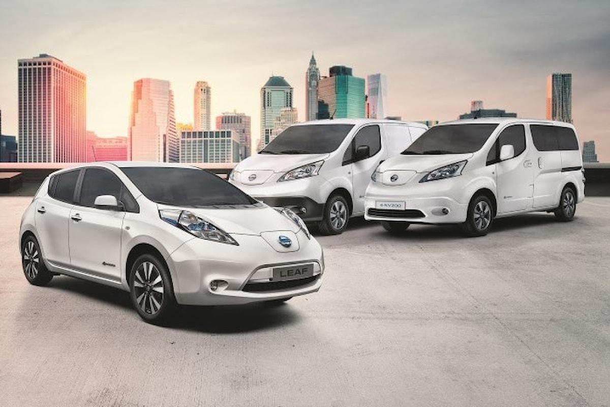 Si chiude l'anno fiscale 2016 e Nissan è leader del mercato elettrico in Italia