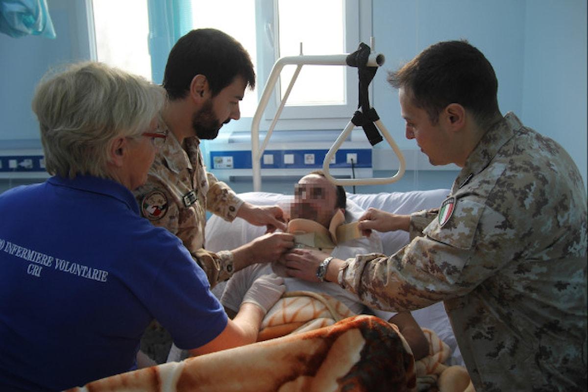 Libia, medici militari italiani curano e assistono feriti e mutilati libici