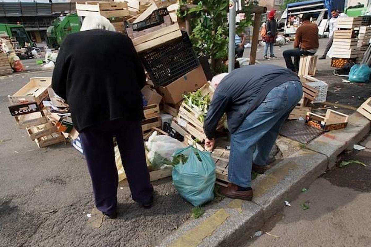 Dicono che la crisi è passata però molti anziani saltano il pranzo o la cena