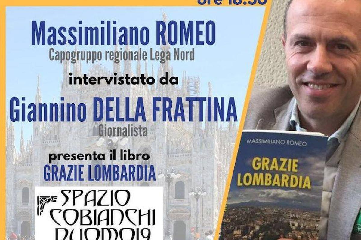 Presentazione del libro Grazie Lombardia di Massimiliano Romeo