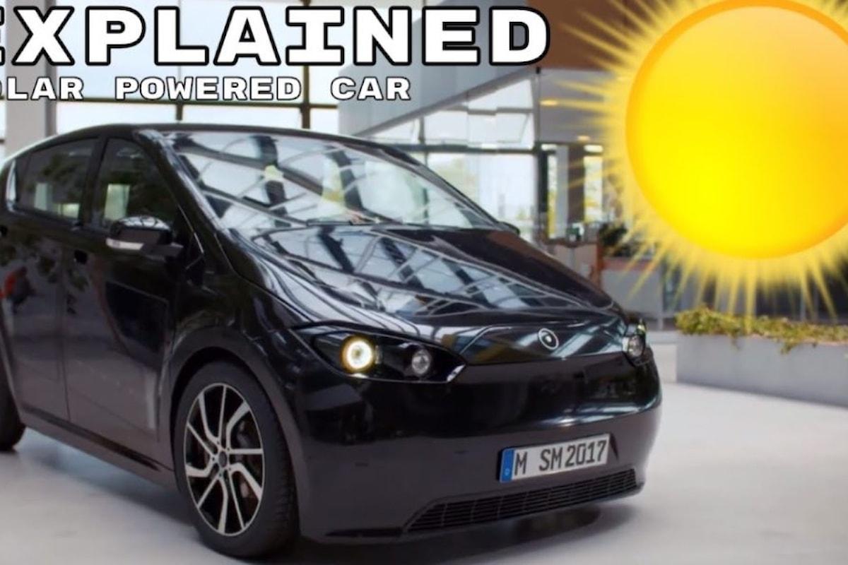 Sono Motors SION, l'auto elettrica che ricarica la batteria dal sole!