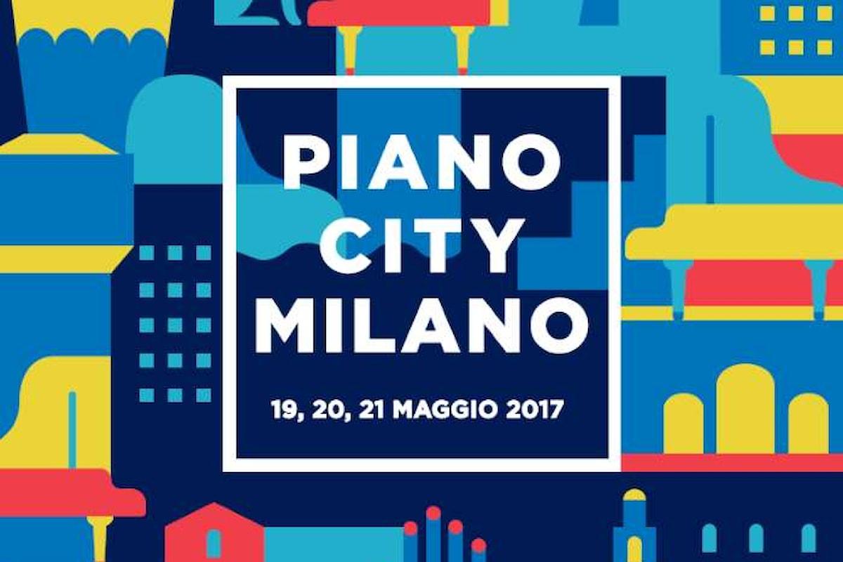 A Milano la sesta edizione di Piano City dal 19 al 21 maggio