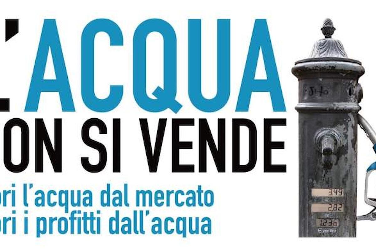Il PD stravolge il referendum sull'acqua reintroducendo la possibilità della gestione privata