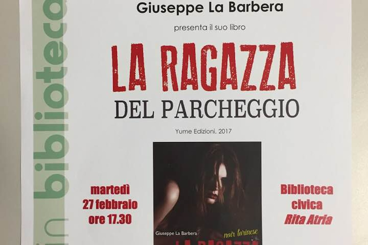 Suspense in biblioteca con Giuseppe La Barbera