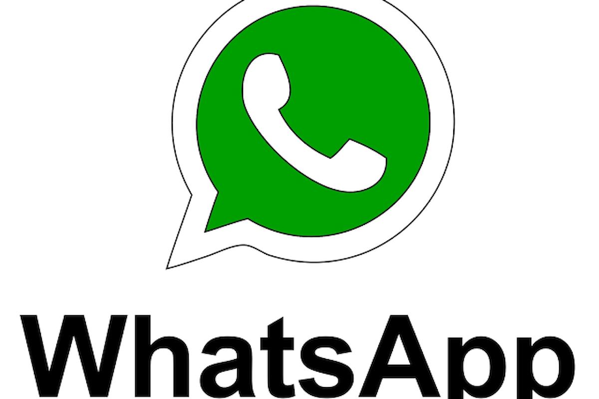 WhatsApp, arrivano le videochiamate