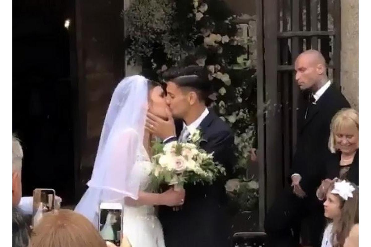Lorenzo Pellegrini e Veronica Martinelli, bellissimi e innamoratissimi, hanno detto sì...