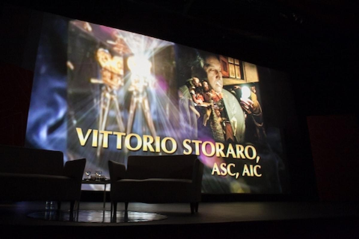 Vittorio Storaro e la commozione… nel Cinema e nella Vita