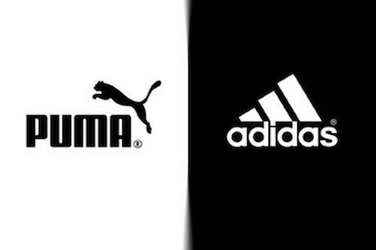 Puma e Adidas: una guerra infinita. Sapete perché?