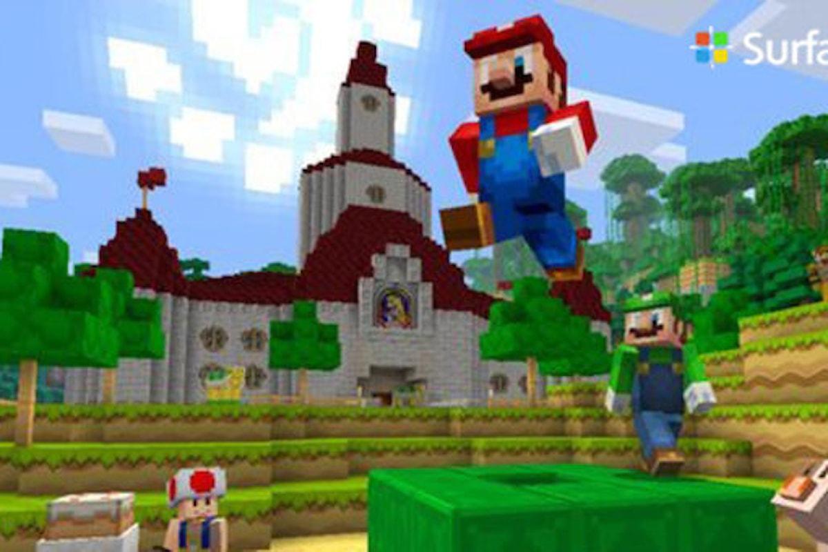 Minecraft: arriva Super Mario Mash up Pack sulla Wii U | Surface Phone Italia