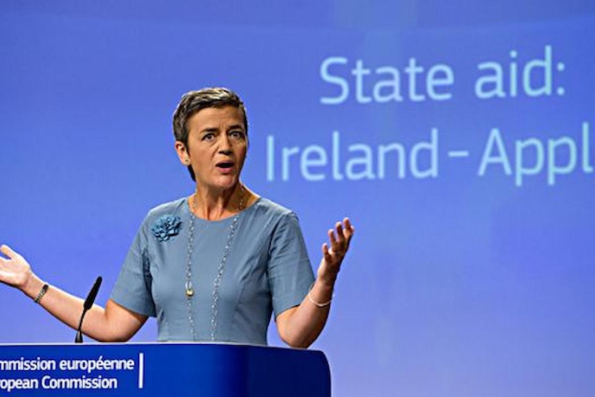 Gli accordi fra Apple e Dublino giudicati illegali dalla Commissione Europea