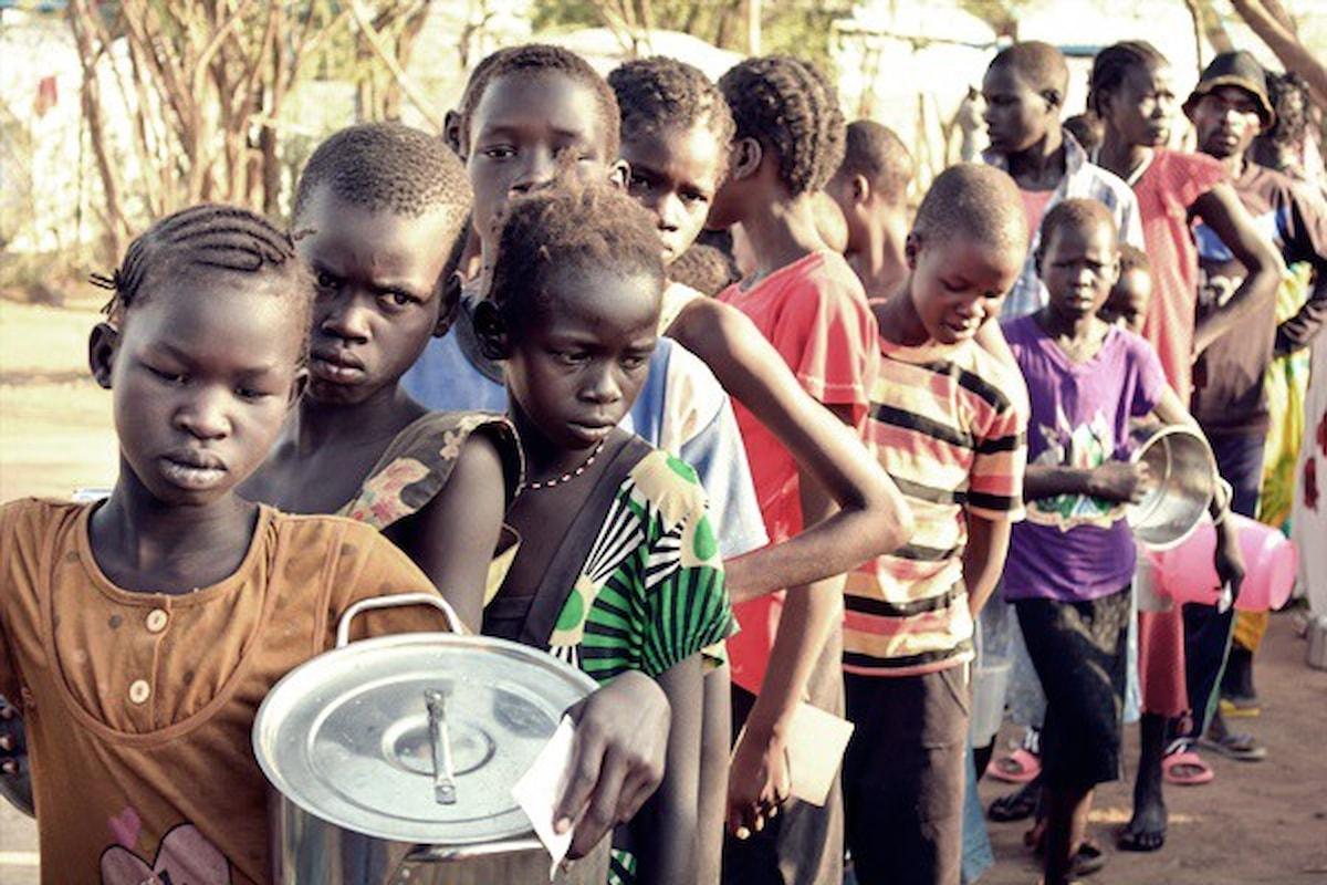Allarme carestia in Sudan del Sud, a rischio cinque milioni di persone