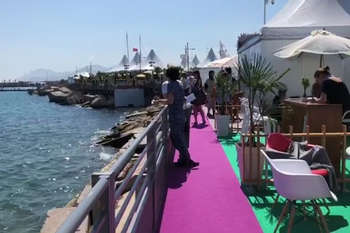 Piers Handling al TIFF & OMDC Cannes Cocktail Event