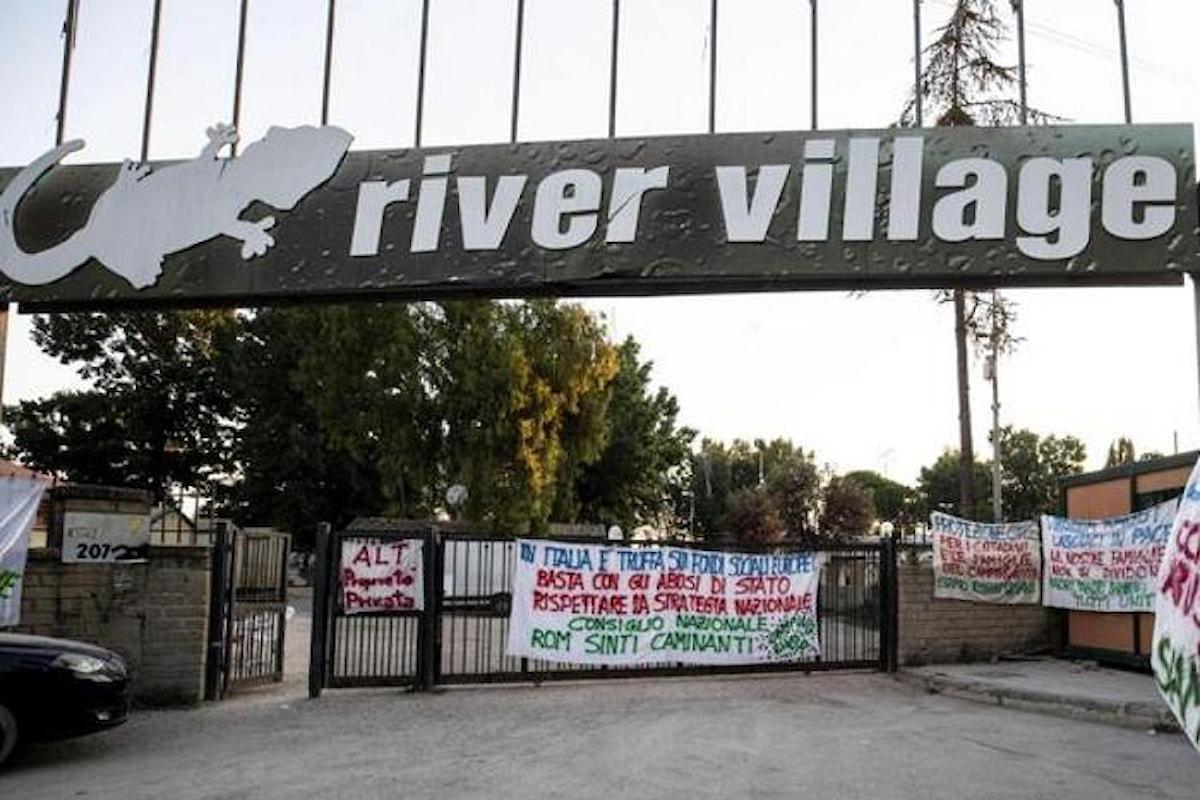 Sgomberato campo rom a Roma nonostante lo stop ricevuto dalla Corte europea dei diritti dell'uomo