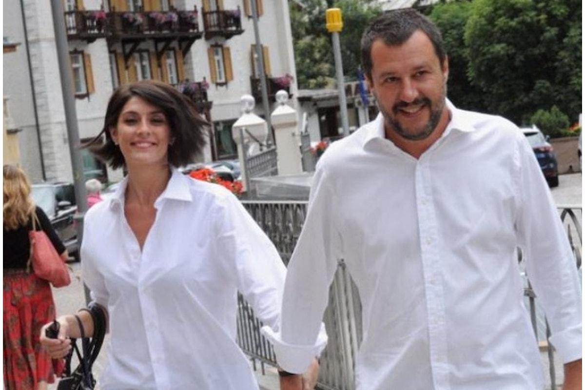 Salvini e la Isoardi si lasciano... ma chi se ne frega!