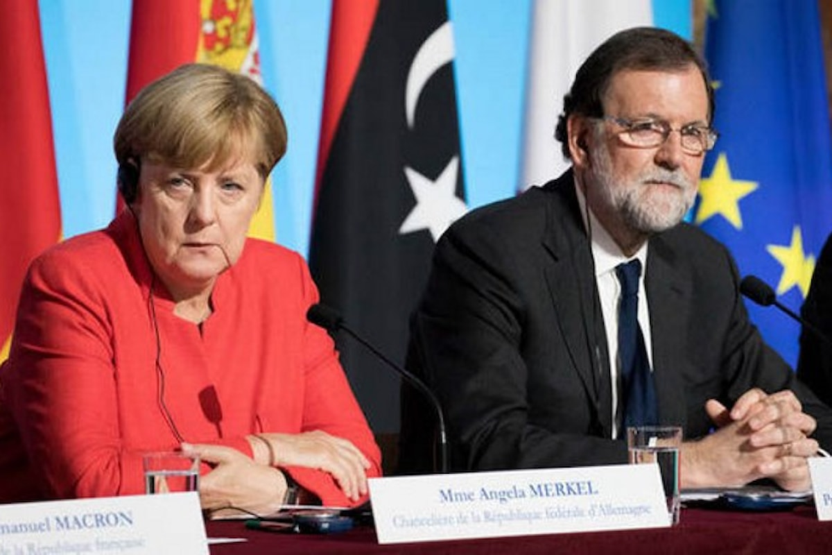 Se è la Merkel a muoversi, allora la questione catalana è un problema di cui si sta occupando anche l'Europa