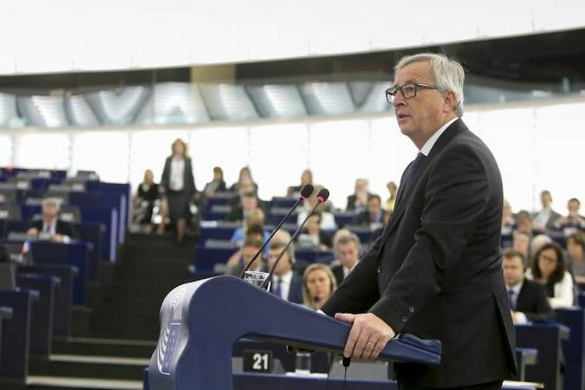 I temi trattati da Juncker nel suo ultimo discorso sullo stato dell'Unione prima delle elezioni del 2019