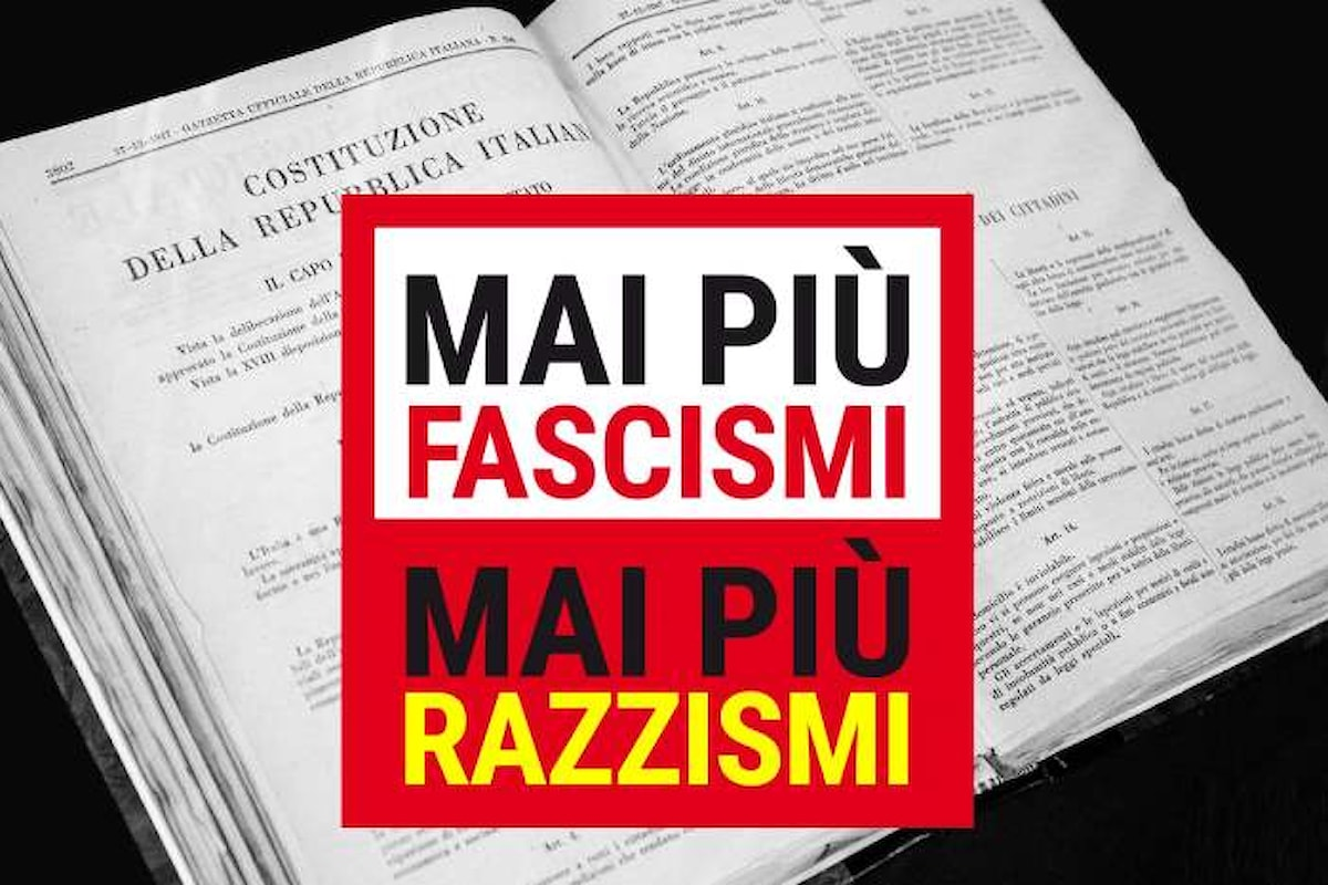 La manifestazione nazionale Mai più fascismi - Mai più razzismi, sabato 24 febbraio a Roma