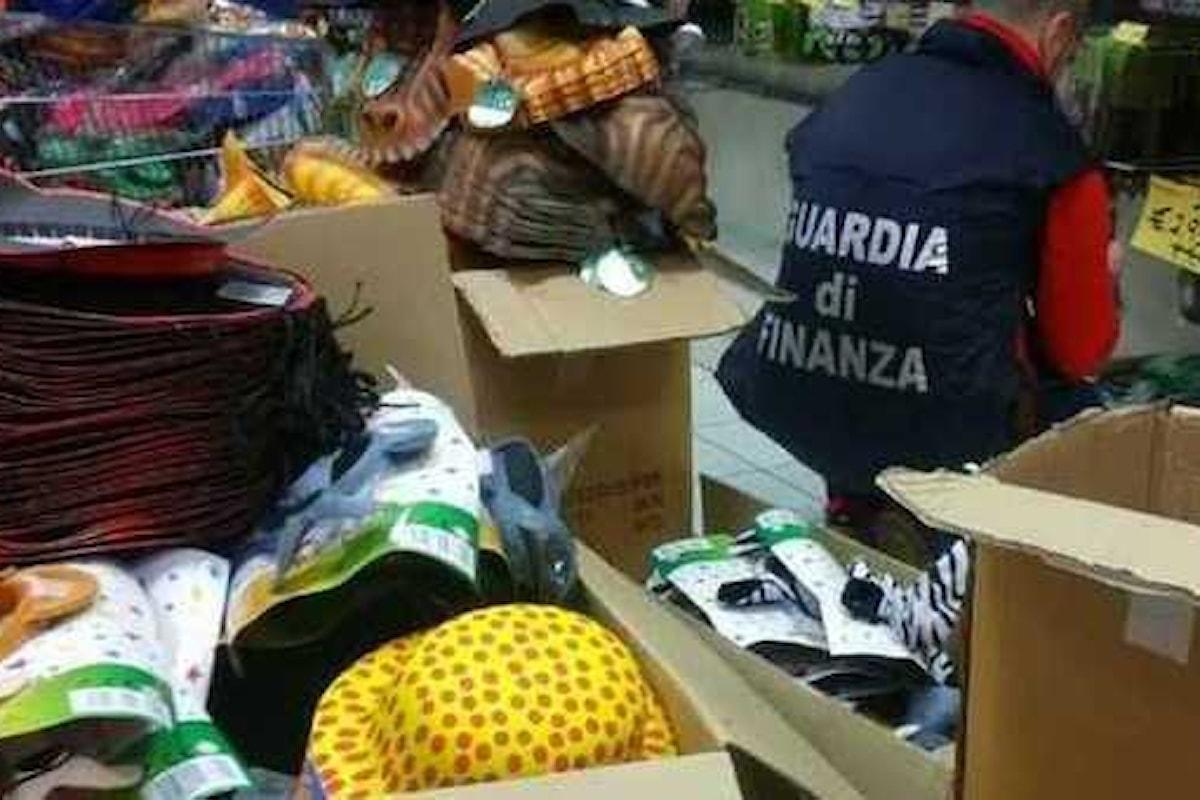 Prodotti per bambini contraffatti, maxi sequestro della finanza nel salernitano