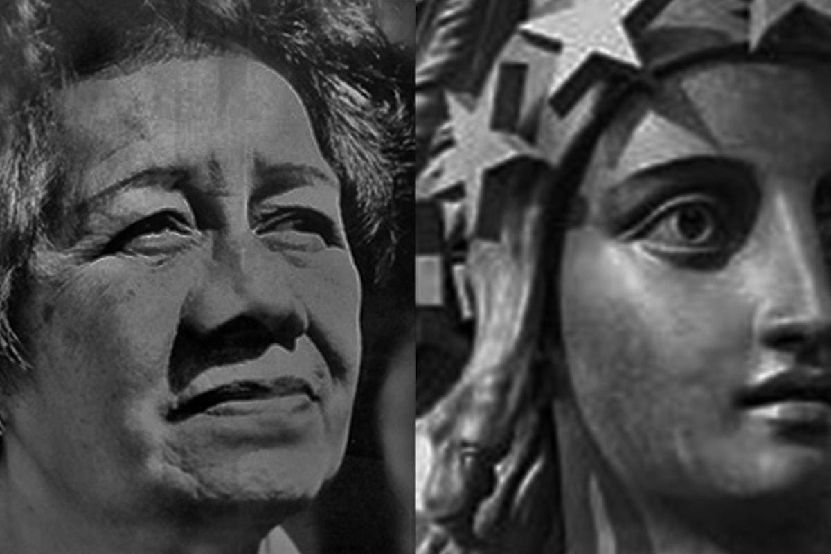 Morrnah Simeona e Lady of Freedom in azione per la Libertà
