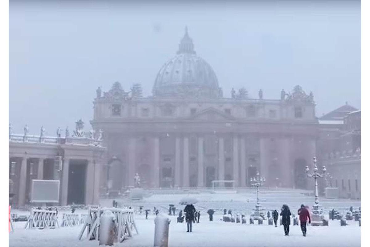 La neve a Roma? È comunque un problema politico