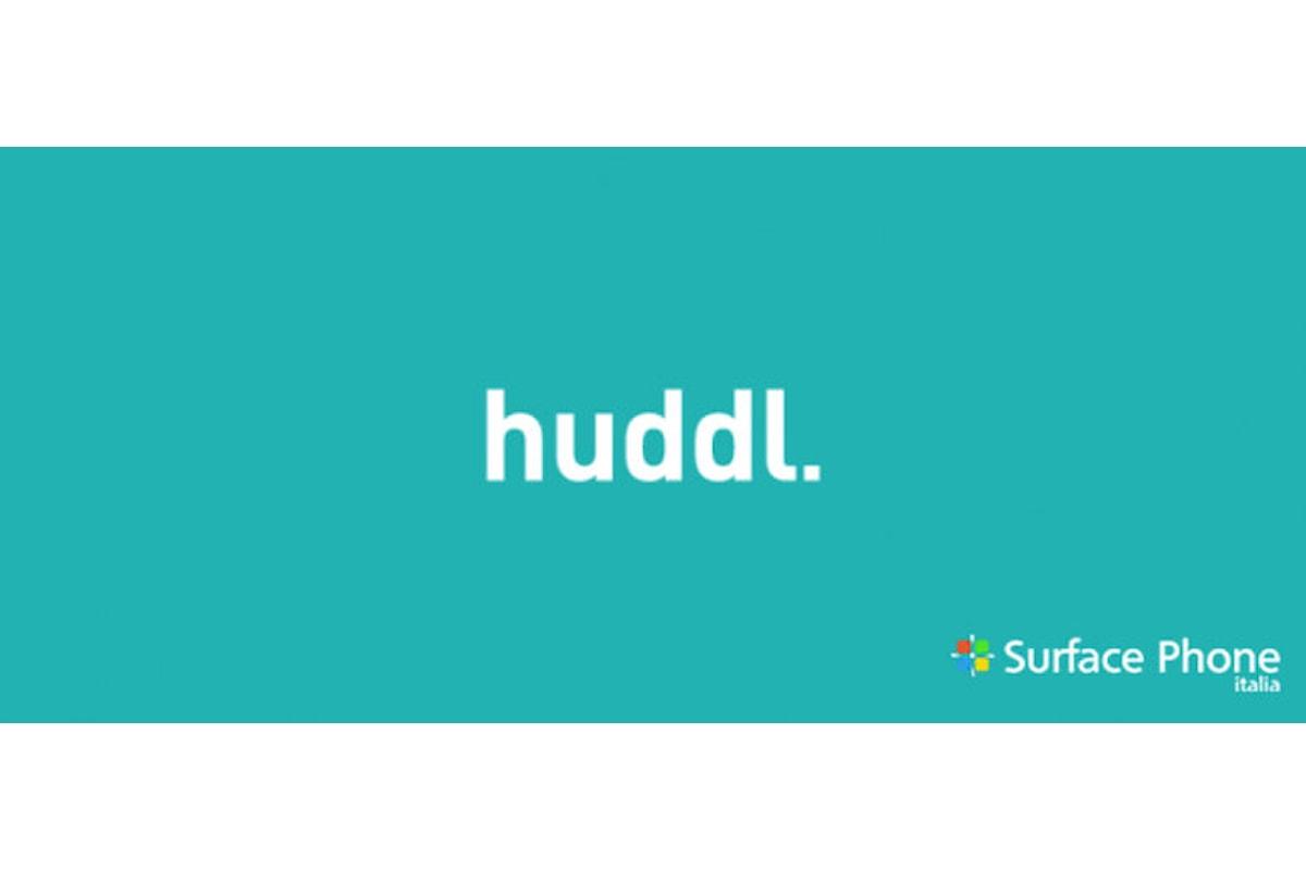 Microsoft lancia un nuovo social network: Huddl | Surface Phone Italia