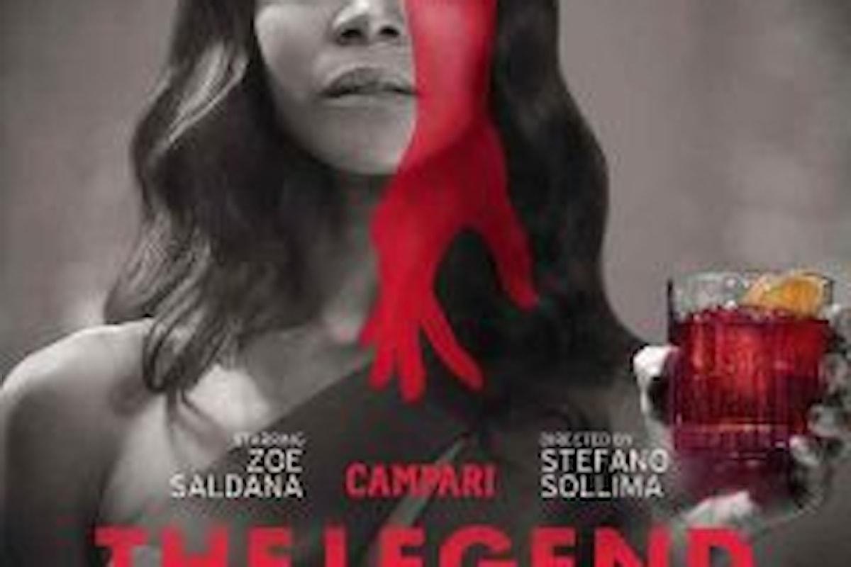 Campari: Zoe Saldana e Adriano Giannini diretti da Stefano Sollima