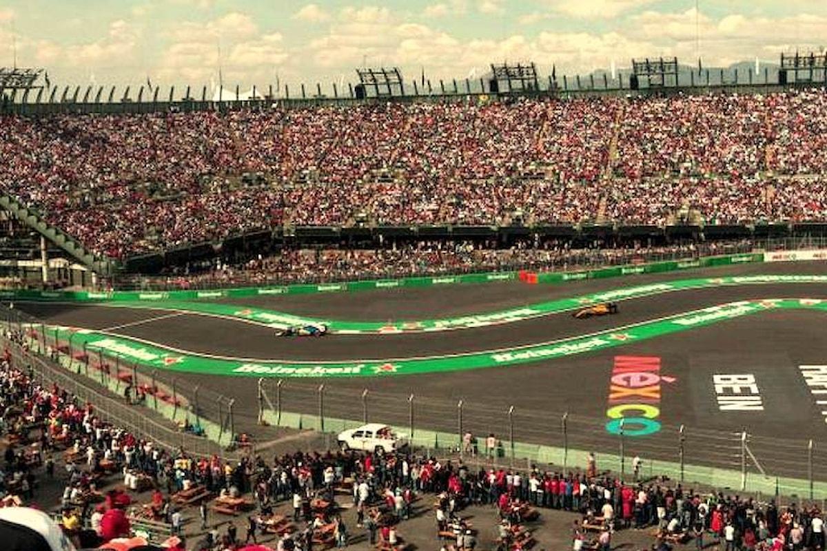 Formula 1, nel fine settimana si disputa il Gran Premio del Messico terzultimo appuntamento del 2018