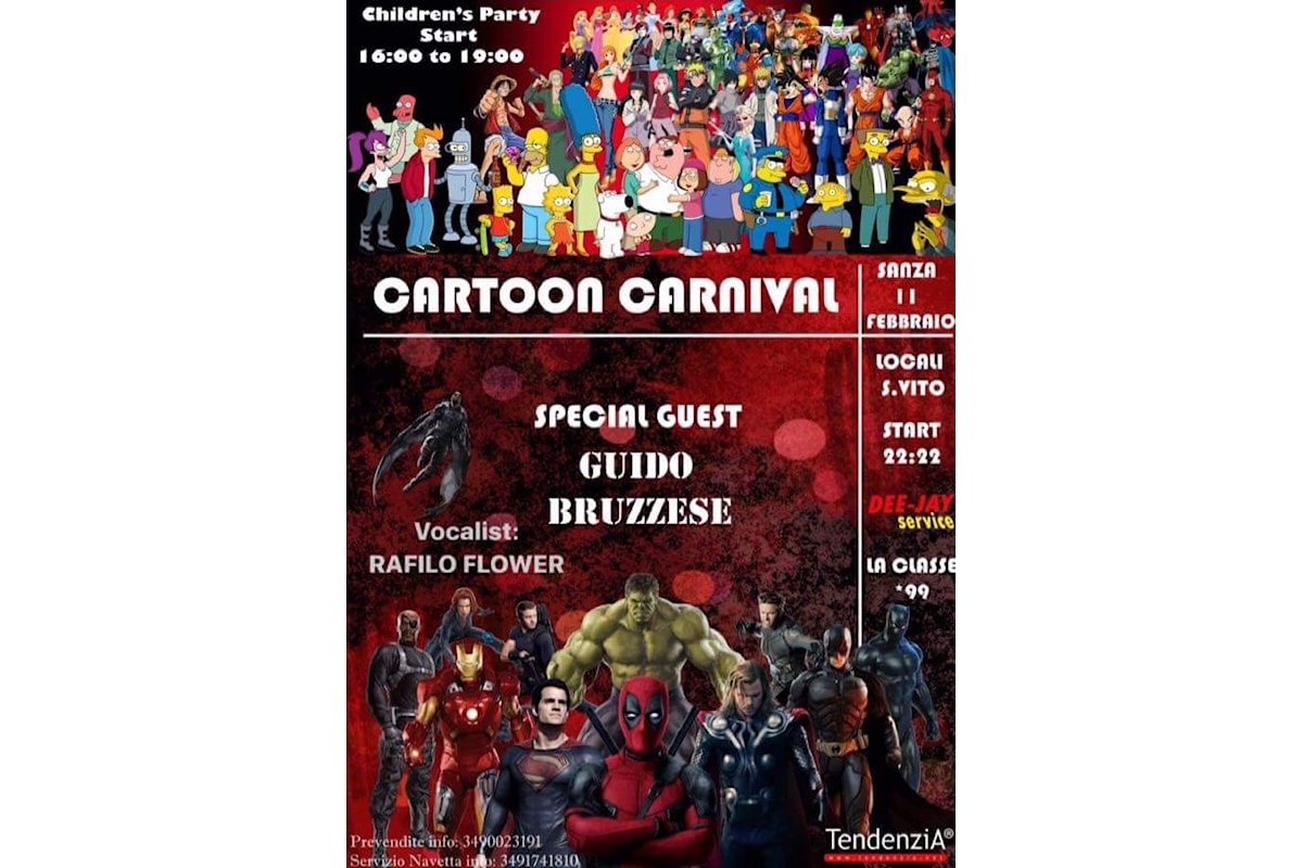 Sanza: Cartoon Carnival, l'evento
