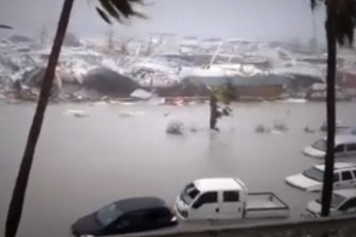 Prosegue la marcia di Irma verso la Florida. Danni ingentissimi a Barbuda e Saint Martin