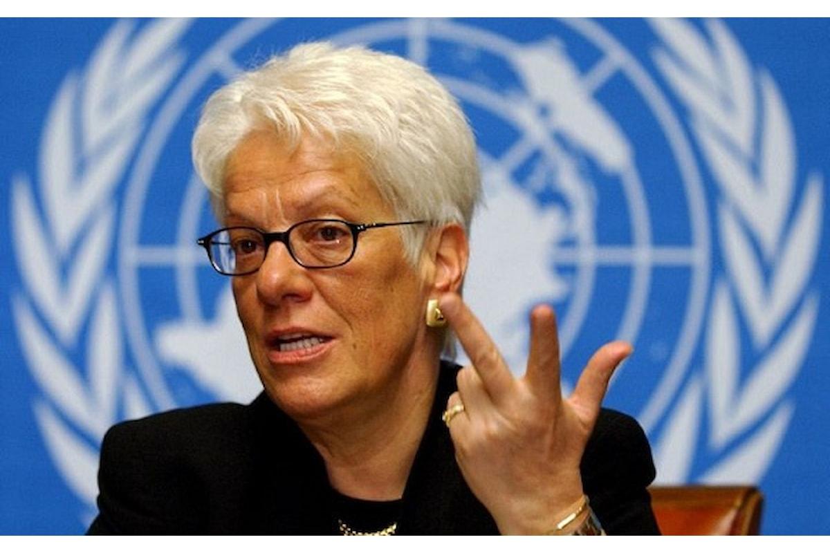 """IX Festival della Diplomazia: """"Gli Impuniti. I Crimini in Siria e la mia lotta per la verità"""" di Carla Del Ponte"""
