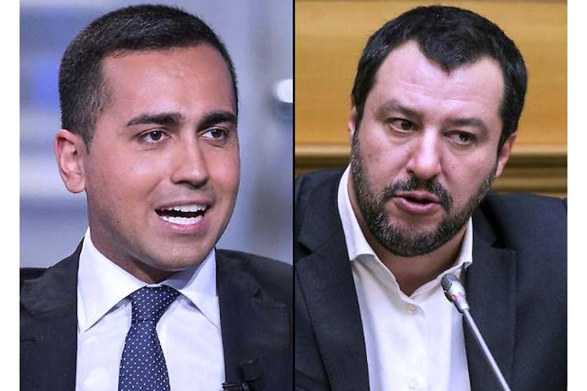 Salvini spera, ma Di Maio lo gela: niente accordi se di mezzo c'è Berlusconi