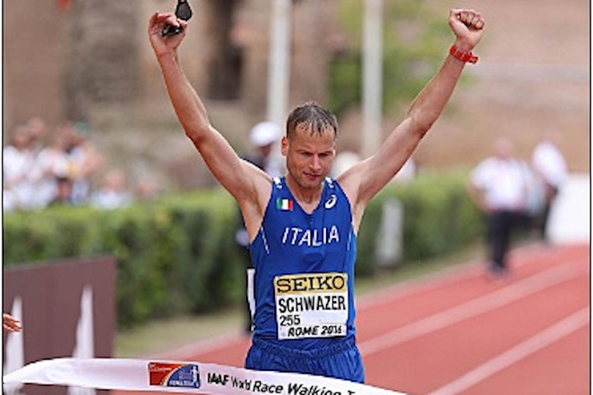Schwazer negativo all'ultimo controllo antidoping. Domani, finalmente, iniziano le gare