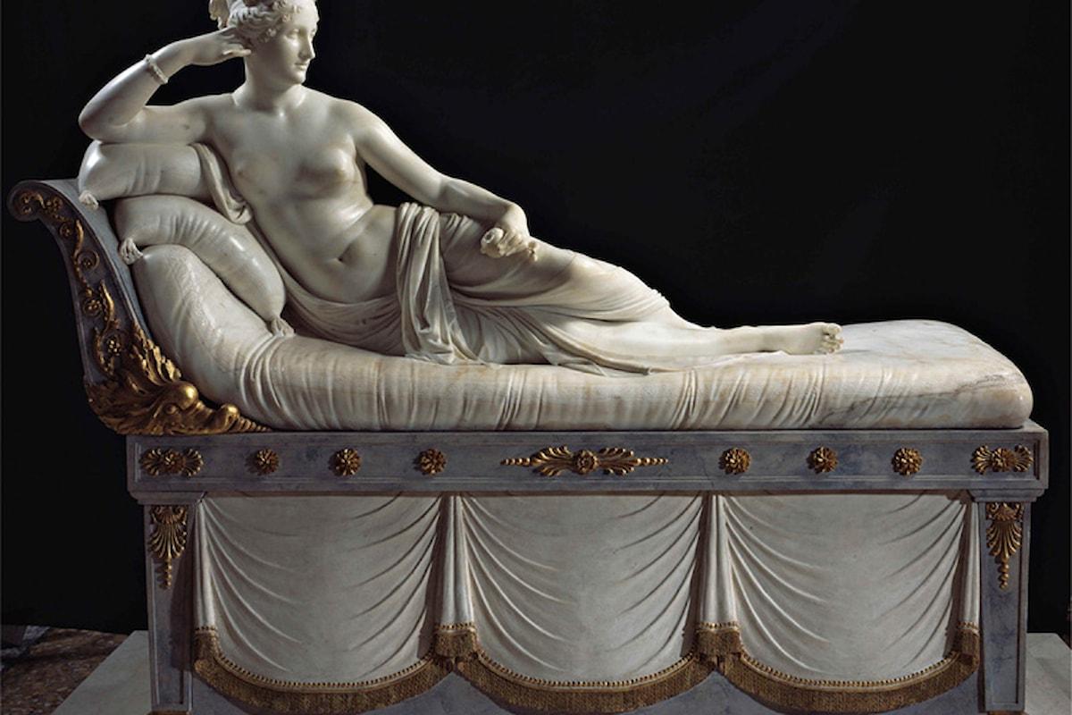 Paolina Borghese come Venere Vittoriosa