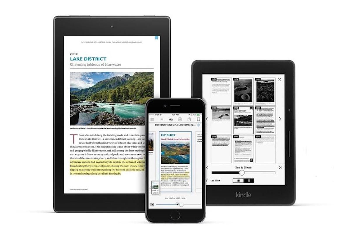 Disponibile la nuova app Kindle che migliora la lettura e la ricerca dei libri su smartphone e tablet